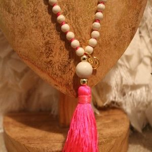 Lilly Pulitzer Jewelry - Lilly Pulitzer Tassel Necklace